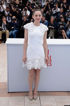 Cannes 2013: Marion Cotillard in Alexander McQueen