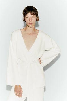 KIMONO KNIT CARDIGAN | ZARA Australia Zara Australia, Loungewear, Knit Cardigan, Kimono, Autumn, Knitting, Shopping, Fashion, Moda