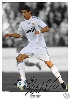 Autograph by Cristiano Ronaldo