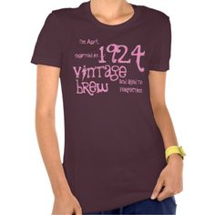 90th Birthday Gift Vintage Brew Crafted in 1924 T Shirts  http://www.zazzle.com/jaclinart/gifts?cg=196103479923841367  Jaclinart Custom Birthday Tees, All Years:  http://www.zazzle.com/jaclinart/gifts?cg=196265491402248425  #1924 #jaclinart #birthday #tees #vintage #brew #beer #custom #personalized #customized