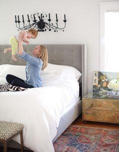 "Valspar Modern Gray in ""A Kansas Home Filled with Color and Pattern"" on Design*Sponge"