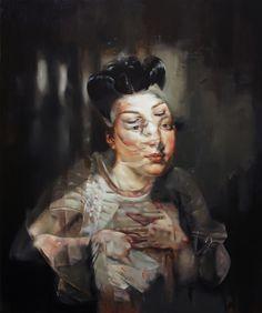 See more of FLAVIA PITIS' DARK, FEMININE PAINTINGS here http://beautifulbizarre.net/2014/02/24/flavia-pitis-dark-feminine-paintings/