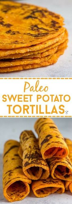 These grainless, eggless, paleo sweet potato tortillas are the perfect healthy alternative for flour or corn tortillas. Simple ingredients and freezer friendly. via Chrissa - Physical Kitchness Low Carb Recipes, Whole Food Recipes, Vegetarian Recipes, Cooking Recipes, Diet Recipes, Cooking Tips, Mexican Recipes, Brunch Recipes, Best Healthy Recipes
