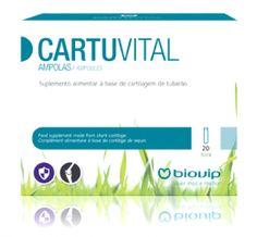 Vida Saudável Biovip: Cartuvital Ampolas.