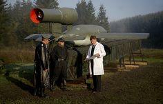 v1 rocket German ww2 flying bomb inventor wernher von braun genius engineer.