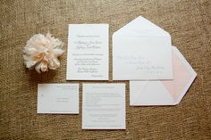 Gaon/Wilson Wedding Invitations Main Image