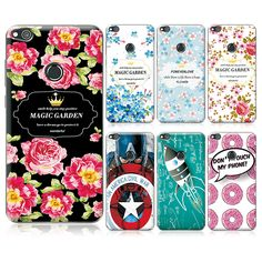 "New Arrived Ample Flower Case For Huawei P8 Lite (2017 Version) Case Cover For Huawei P8 Lite 2017 5.2""+ Gift"
