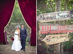 carnival wedding in the woods :: Green Wedding Shoes Wedding Themes, Wedding Blog, Our Wedding, Wedding Ideas, Wedding Decor, Wedding Stuff, 1920s Wedding, Wedding Album, Chic Wedding