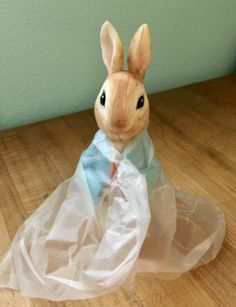 Learn how to create a Peter Rabbit figurine out of modeling chocolate with this tutorial; perfect for a Peter Rabbit themed cake. Peter Rabbit Figurines, Peter Rabbit Cake, Peter Rabbit Birthday, Baby Boy Birthday Cake, Birthday Cakes, 2nd Birthday, Fondant Rabbit, Petal Dust, Pastries