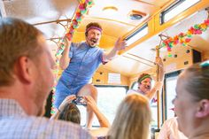 Front Porch Improv takes show on the road with 'Savannah for Morons' trolley tour Visit Savannah, Savannah Chat, Antebellum Homes, Forrest Gump, Horse Drawn, Cool Things To Make, Front Porch, Tours