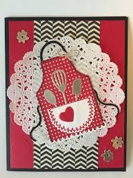 Image result for stampin up apron of love cards