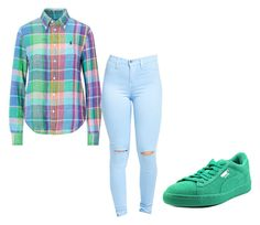 """""""Untitled #78"""" by qveenmm on Polyvore featuring Puma"""