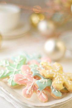 A Pastel Christmas Christmas Makes, Pink Christmas, Christmas Goodies, Christmas Colors, Christmas Treats, Christmas Baking, Christmas Time, Vintage Christmas, Christmas Collage
