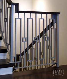 Interior Stair Railing Kits – Home Interior Decor Metal Handrails For Stairs, Stair Railing Kits, Interior Stair Railing, Modern Stair Railing, Wrought Iron Stair Railing, Balcony Railing Design, Interior Balcony, Stair Handrail, Staircase Railings