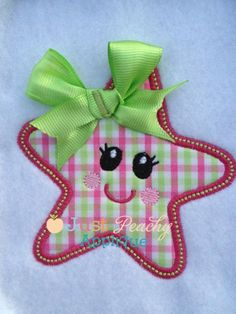 StarFish 2 Applique Design Just Peachy Applique