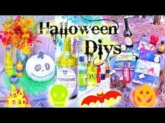 Halloween DIY Potions, Pumpkins, & Spell Books