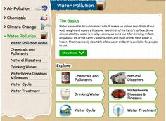 Teach your students about #waterpollution utilizing NLM's Environmental Health Student Portal!