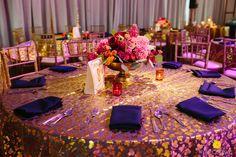 Fuchsia Gold Wedding Coordinator
