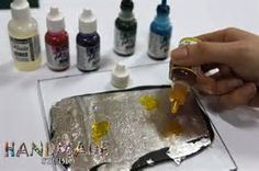 silver alcohol inks - - Yahoo Image Search Results