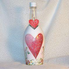 Fľaša k výročiu Pestovaná láska