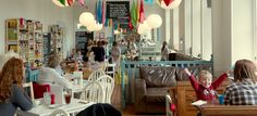 Three Sisters Bake Cafe in Quarriers Village. This place looks fab - have to visit soon.