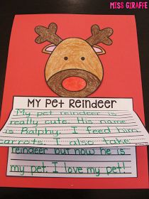 December is one of my favorite months for writing because kids get SO creative when Santa Claus is involved. :) Of course you write ...