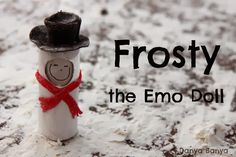 Frosty the Emo Doll