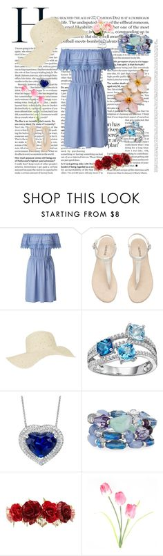 """""""Summer Extra"""" by ko-creative-thinking on Polyvore featuring Miss Selfridge, Accessorize, Fragments, Forever 21 and Chanel"""