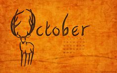October Desktop Calendar Round Up Days Of The Year, Months In A Year, 12 Months, Special Days In October, October Wallpaper, Desktop Calendar, Autumn Inspiration, My Guy, Writing Prompts