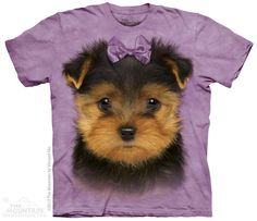 3963017851 Another great find on Purple Yorkshire Terrier Puppy Sublimation Tee -  Toddler & Girls
