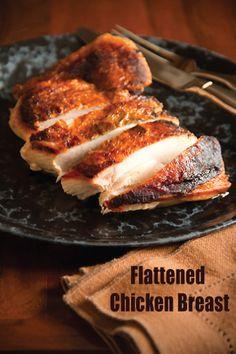 Flattened Chicken Breast