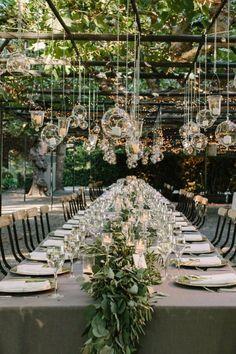 Wedding Ideas: Stunning Napa Wedding Illuminates the Garden (MODw...