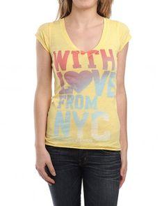HILFIGER DENIM Lexie T-Shirt gelb € 34,90