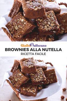 Brownie at the Oreos's - HQ Recipes Nutella Recipes, Brownie Recipes, Chocolate Recipes, Cake Recipes, Dessert Recipes, Fun Desserts, Delicious Desserts, Moroccan Desserts, Biscotti