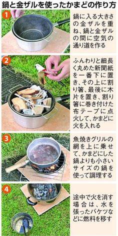 「防災の日」前に備え学ぼう 鍋と金ザルで作ったかまどで「炊き出し」もOK(3) - 産経ニュース