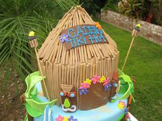Ideas for Grace's Hawaiian Gingerbread House