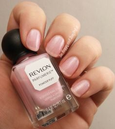 Revlon Parfumerie Powder Puff  #nailpolish #nails | Be Happy and Buy Polish