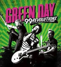 """Green Day's upcoming world tour officially named """"99 Revolutions Tour"""", which i am happy to say i will be seeing :-)"""