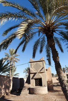 oasis, Ouled Said, Ouarzazate, Morocco.  Photo:  hubertguyon, via Flickr