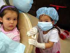 Sitting in Dentist Chair Wow .. its amazing what you can find while searching out images for cosmetic dentistry and more