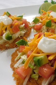 """Keto Chicken Taco Shells 