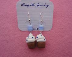 orecchini orecchini fimo cupcake monachella nichelfree   eBay ($1-20) - Svpply
