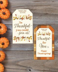 Thanksgiving Favor Tags Printable Thanksgiving Tags I'm Thanksgiving Note, Thanksgiving Favors, Thanksgiving Blessings, Thanksgiving Centerpieces, Thanksgiving Parties, Favor Tags, Gift Tags, Holiday Crafts, Holiday Ideas