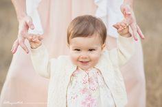 One Year Old Baby Girl | Bethany Mattioli Photography | Gilroy Family Photographer