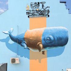 Área Visual - Blog de Arte y Diseño: El arte urbano de NeverCrew