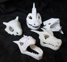 Printed Pokemon Skulls you can f. 3d Printing Diy, 3d Printing Service, Impression 3d, Pokemon Fusion, Pokemon Pokemon, Geeks, 3d Printed Objects, 3d Printer Designs, Best 3d Printer