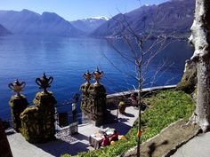Como lake romantic places, best villas to visit.
