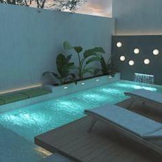 moderner Pool von FILIPPIS/DIP - DISEÑO Y CONSTRUCCION