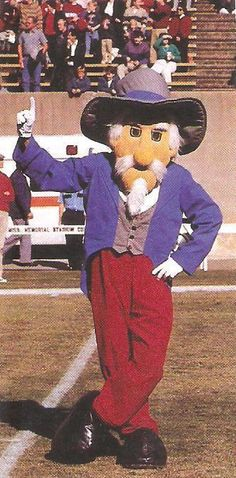 University of Mississippi - Colonel Reb, Ole Miss Rebels mascot.