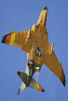 German Air Force F-4H Phantom II, Spooky on the underbody... :-))